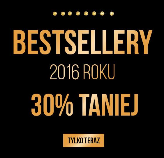 By Dziubeka: 30% zniżki na bestsellery z 2016 roku