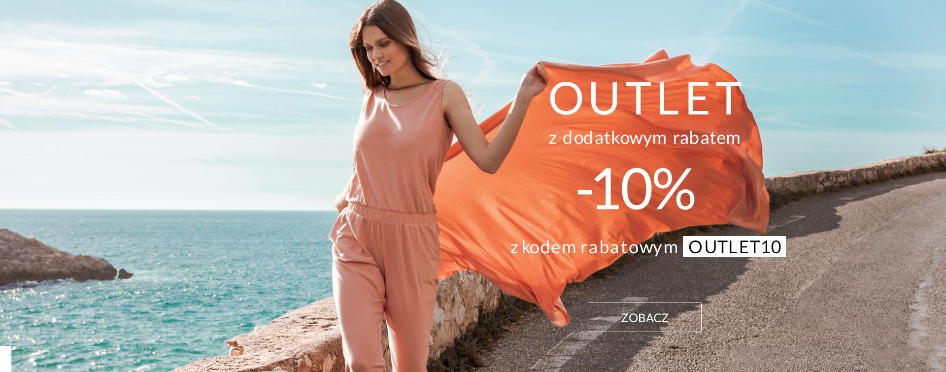 By Insomnia: dodatkowe 10% rabatu na odzież damską z kategorii Outlet