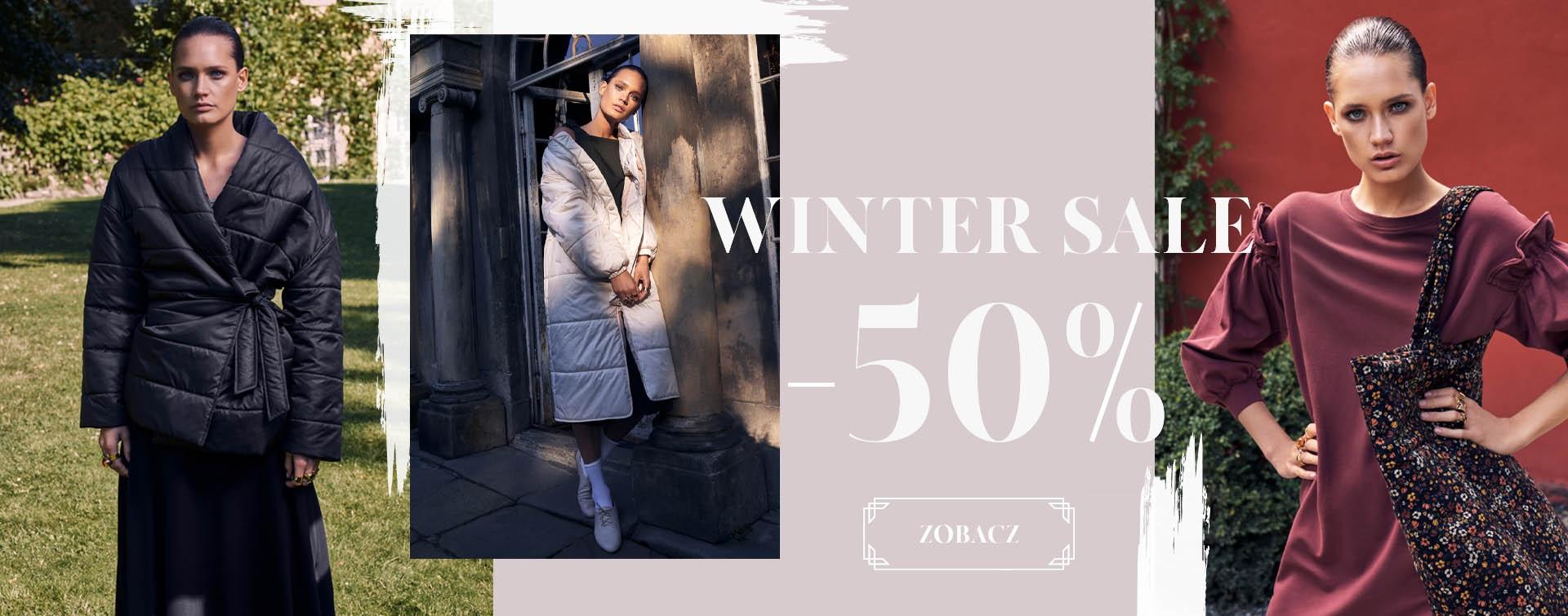 By Insomnia: zimowa wyprzedaż do 50% zniżki na odzież damską
