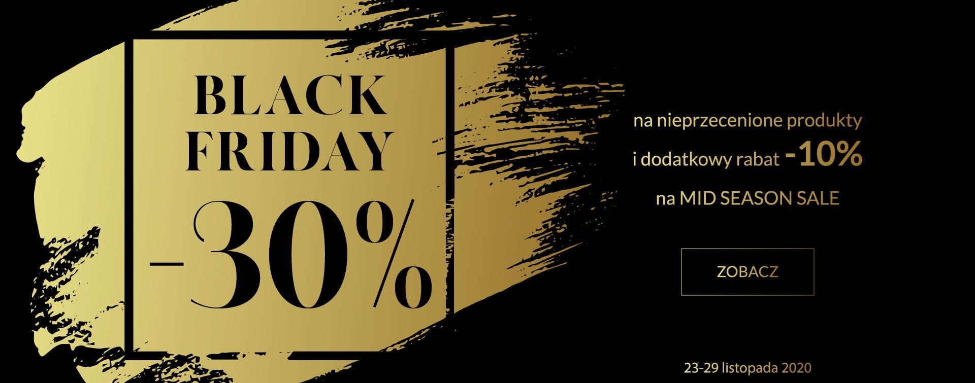 By Insomnia: Black Friday 30% zniżki na nieprzecenioną odzież damską