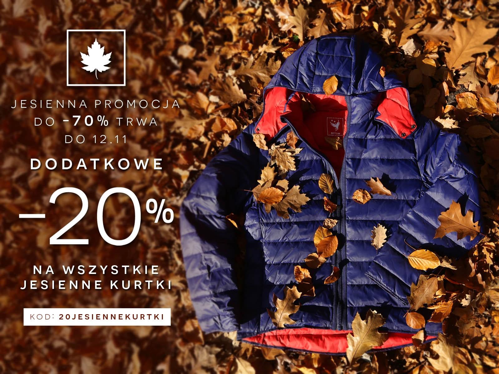 Bytom: wyprzedaż do 70% + dodatkowe 20% na jesienne kurtki