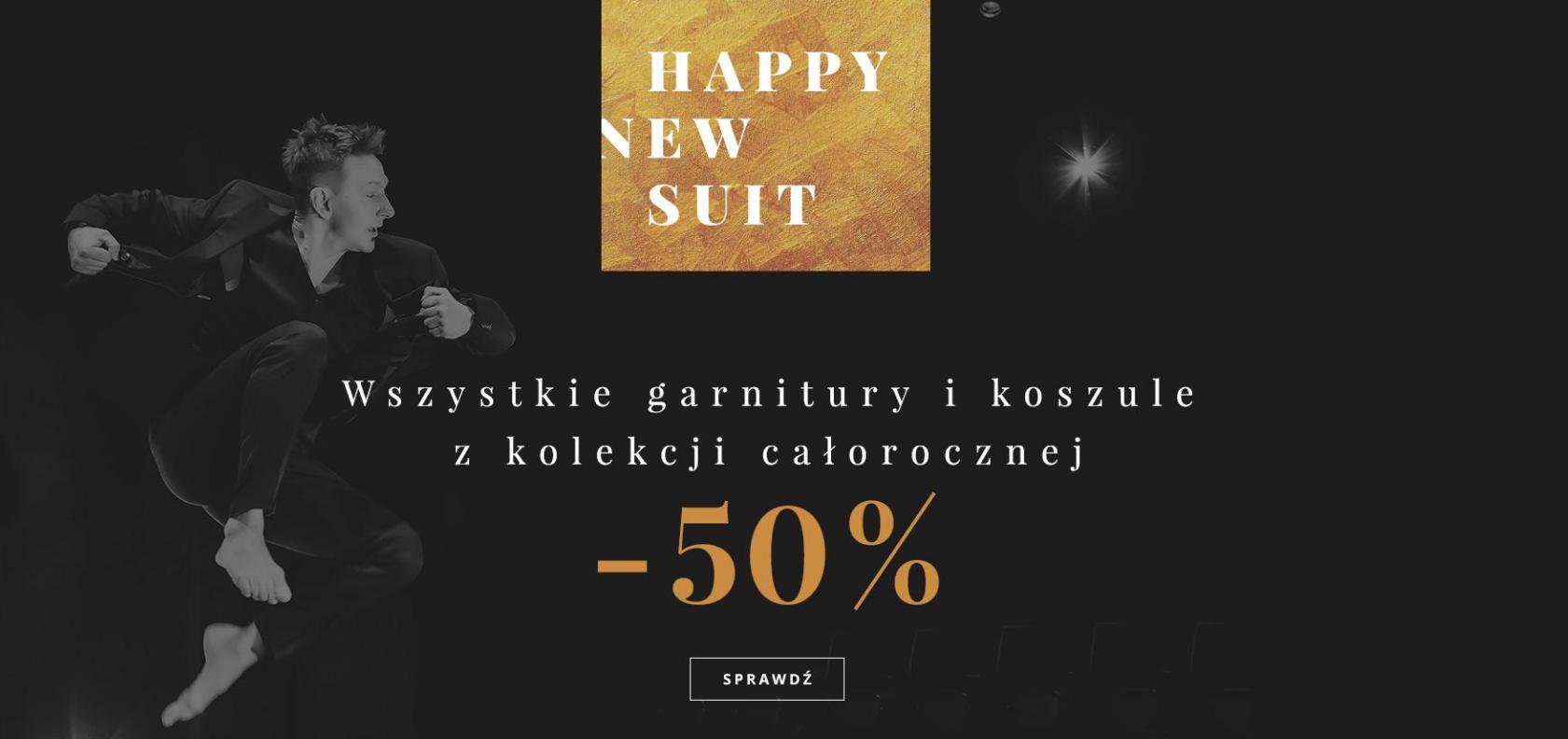 Bytom: wyprzedaż 50% rabatu na garnitury i koszule z kolekcji całorocznej
