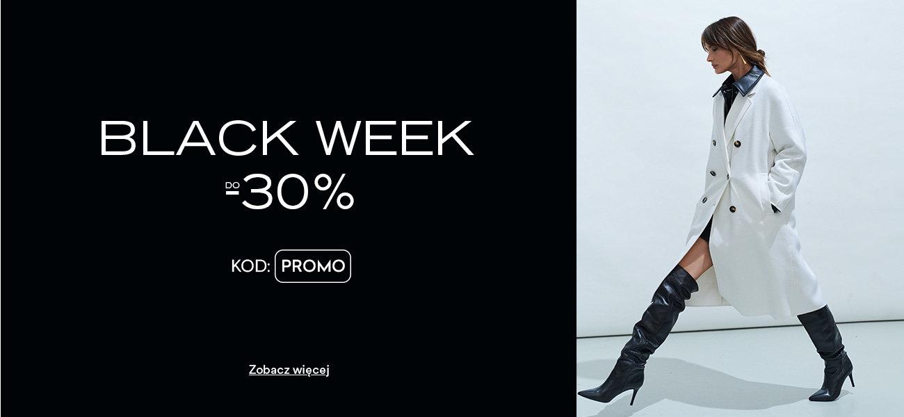 CCC: Black Week do 30% zniżki na buty damskie i męskie, torebki i akcesoria