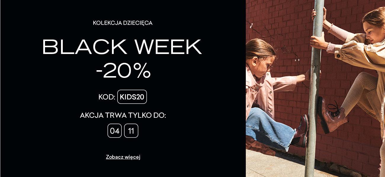 CCC: Black Week 20% rabatu na dziecięcą kolekcję obuwia