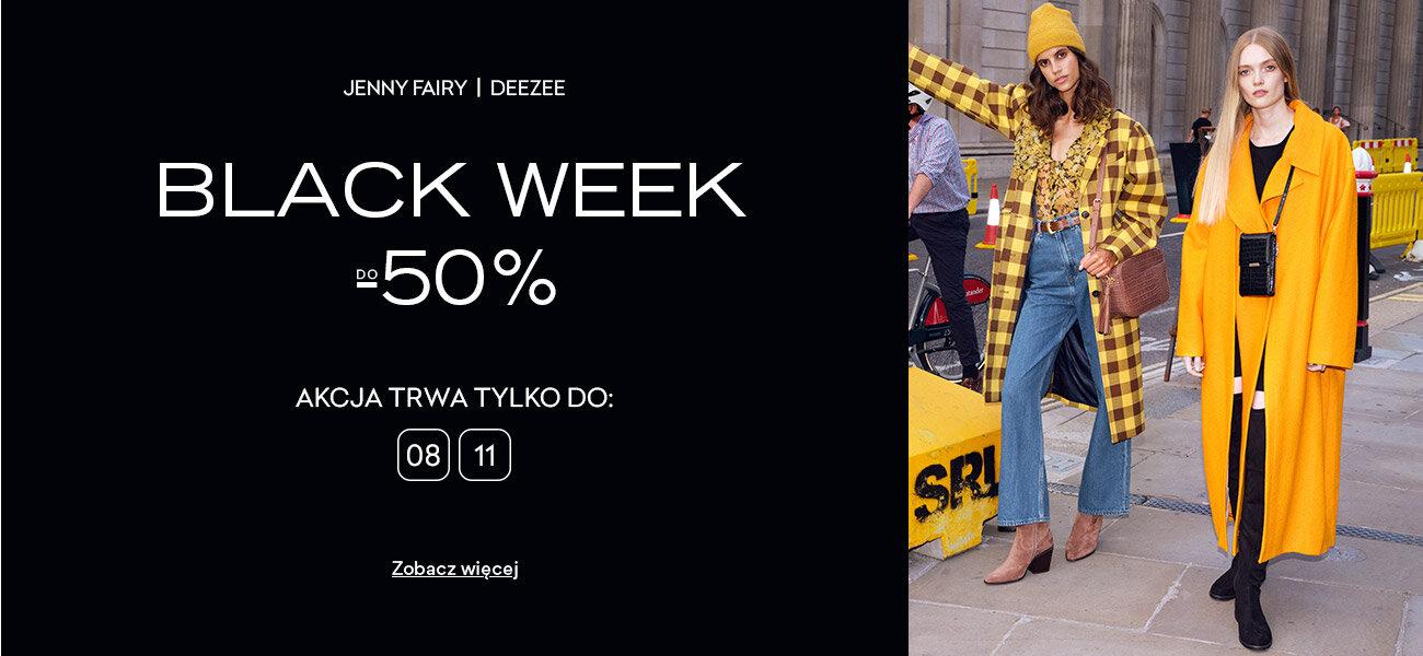 CCC CCC: Black Week do 50% rabatu na obuwie damskie marki Jenny Fairy i DeeZee