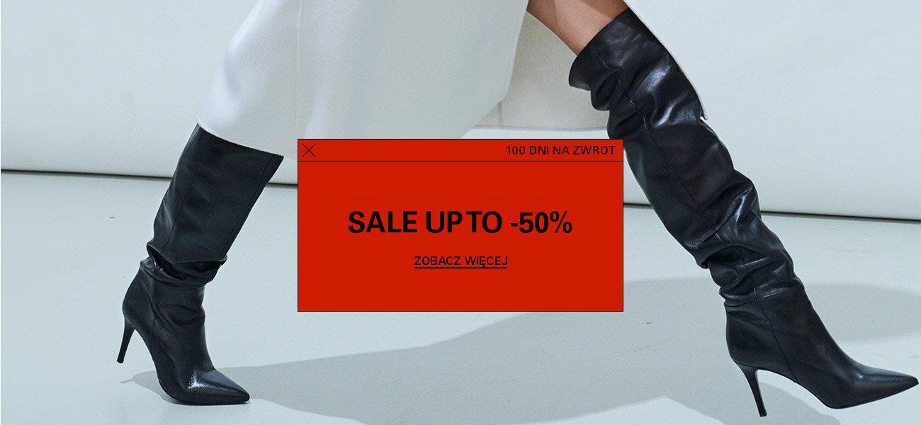 CCC: wyprzedaż do 50% rabatu na buty damskie, męskie i dziecięce, torebki oraz akcesoria
