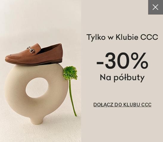 CCC: 30% zniżki na półbuty