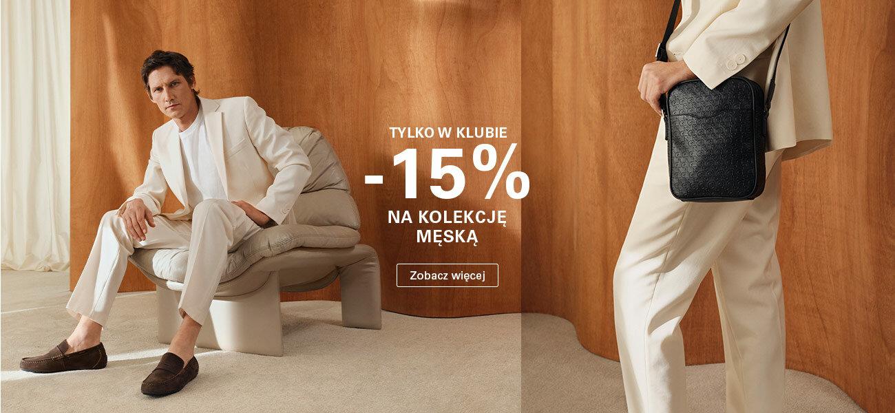CCC: 15% zniżki na kolekcję męską obuwia, toreb i akcesoriów - promocja na Dzień Mężczyzn