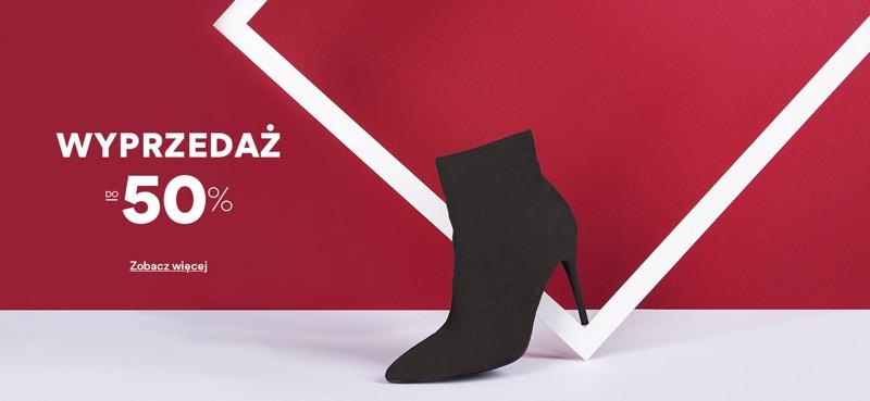 CCC: wyprzedaż do 50% rabatu na buty damskie, męskie i dziecięce                         title=