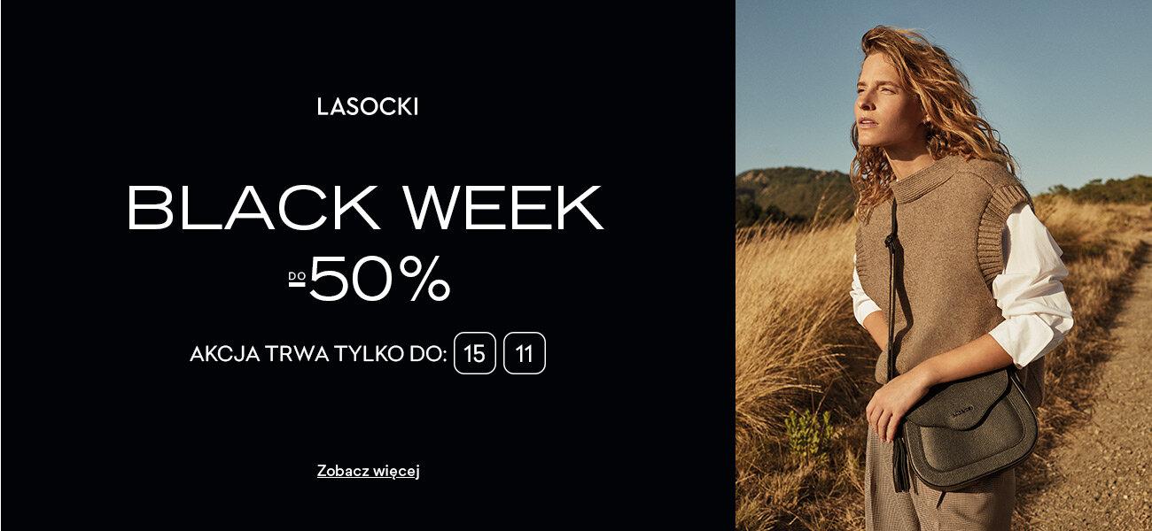 CCC: Black Week do 50% zniżki na obuwie damskie, męskie i dziecięce marki Lasocki