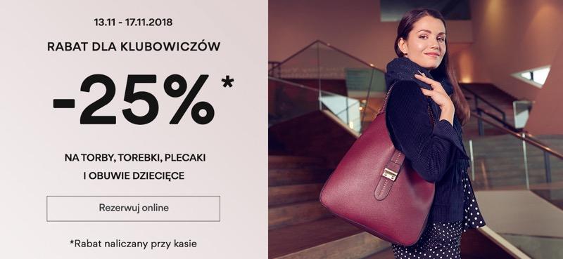 CCC: 25% rabatu na torby, torebki, plecaki i obuwie dziecięce                         title=