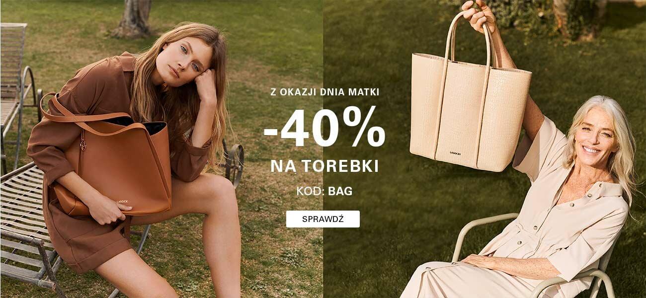 CCC: 40% rabatu na torebki