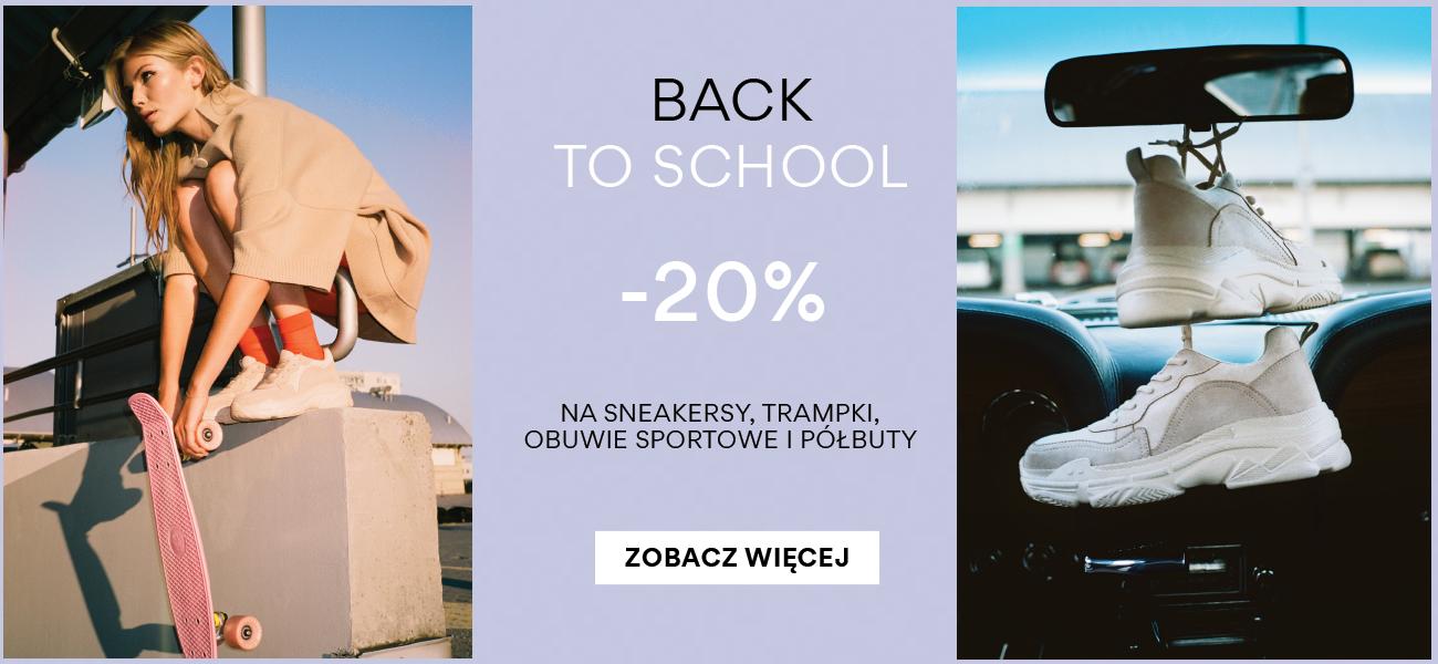 CCC: 20% rabatu na sneakersy, trampki, obuwie sportowe i półbuty