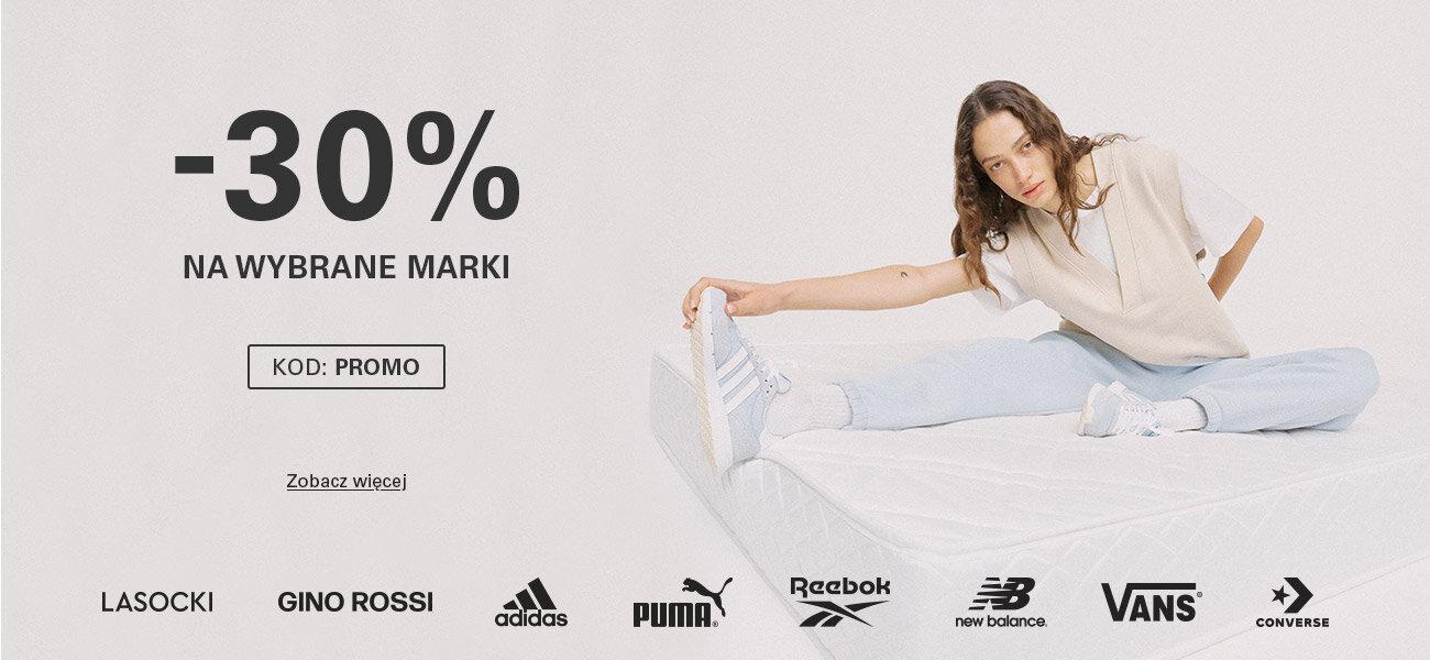 CCC: 30% rabatu na wybrane obuwie m.in. Lasocki, Gino Rossi, adidas, Puma, Reebok, New Balance, Vans, Converse