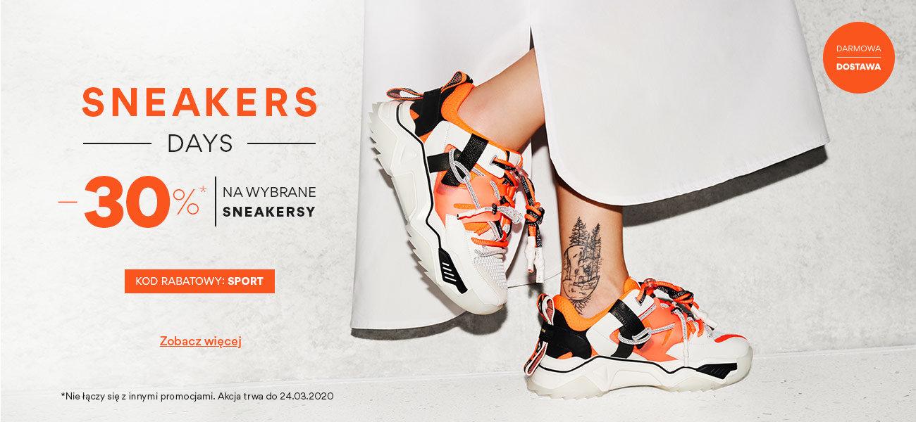 CCC: 30% rabatu na wybrane sneakersy                         title=