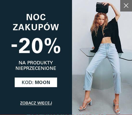 CCC: 20% zniżki na produkty nieprzecenione