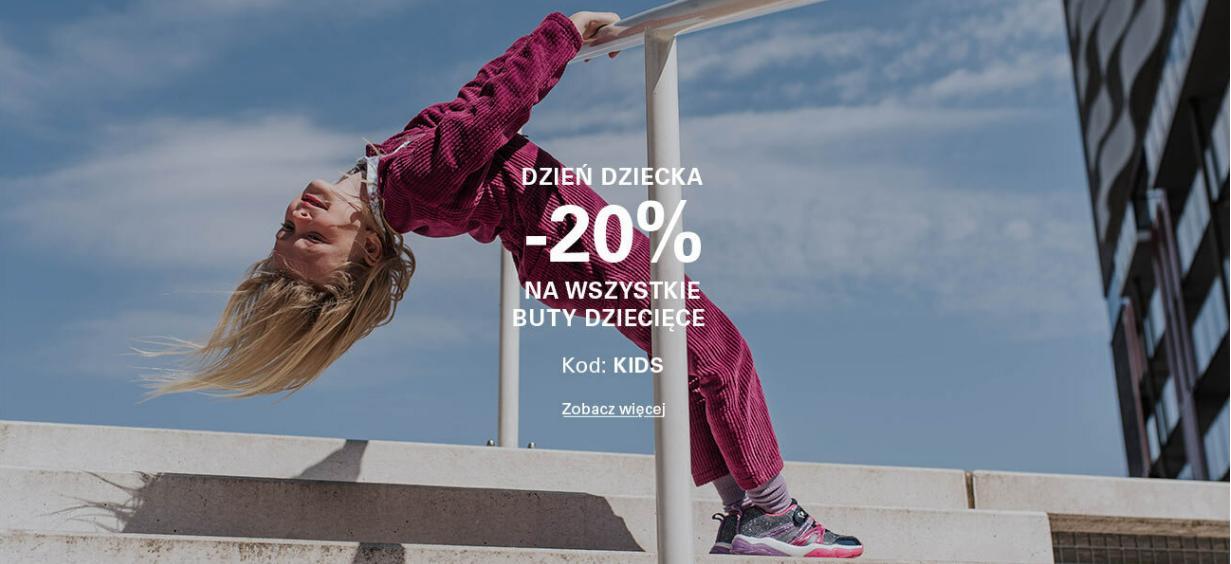 CCC: 20% rabatu na wszystkie buty dziecięce