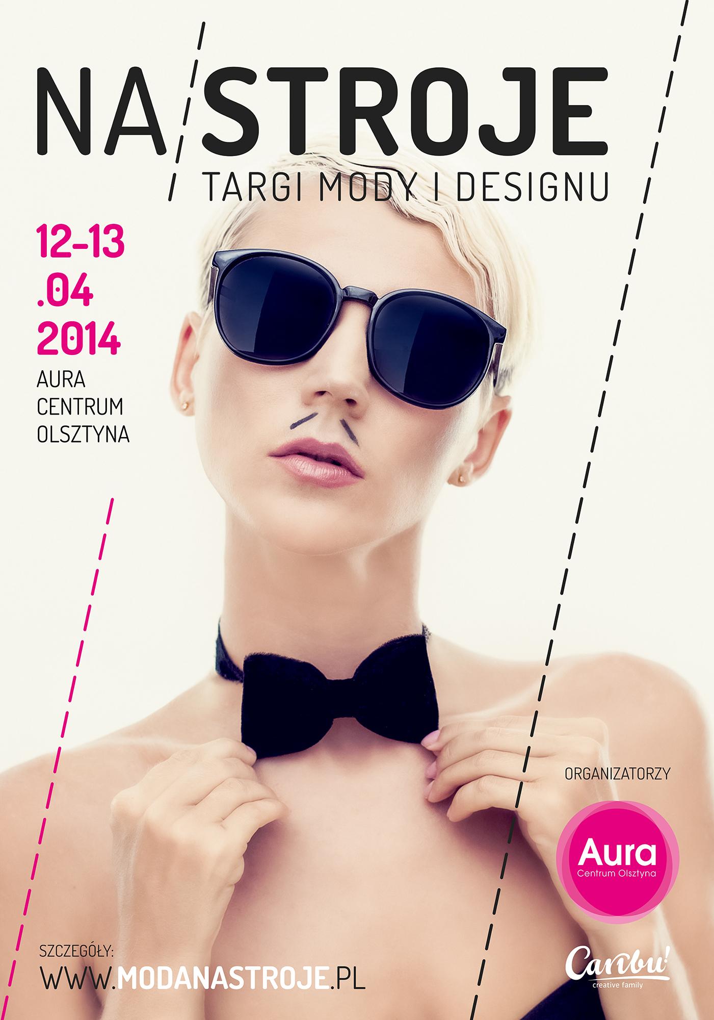 Targi mody i designu NA/STROJE w Olsztynie w centrum Aura 12-13 kwietnia 2014