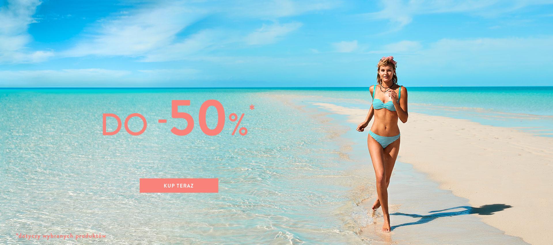 Calzedonia: wyprzedaż do 50% rabatu na bieliznę, stroje kąpielowe, rajstopy, legginsy oraz pończochy