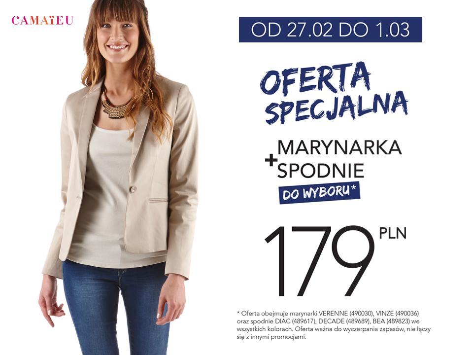 Camaieu: marynarka + spodnie za 179 zł