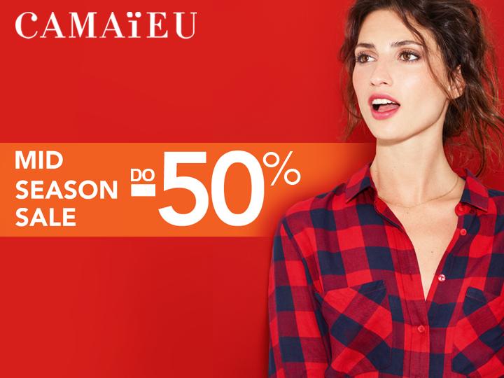 Camaieu: Mid Season Sale do 50% zniżki