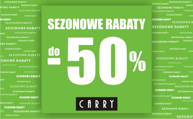 Carry: sezonowe rabaty do 50%