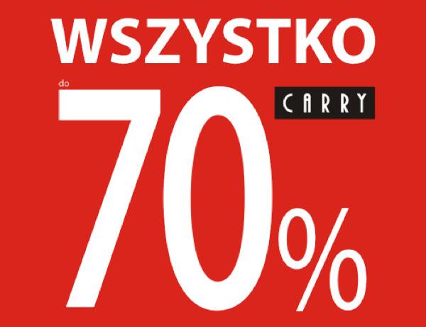 Carry: wyprzedaż do 70%