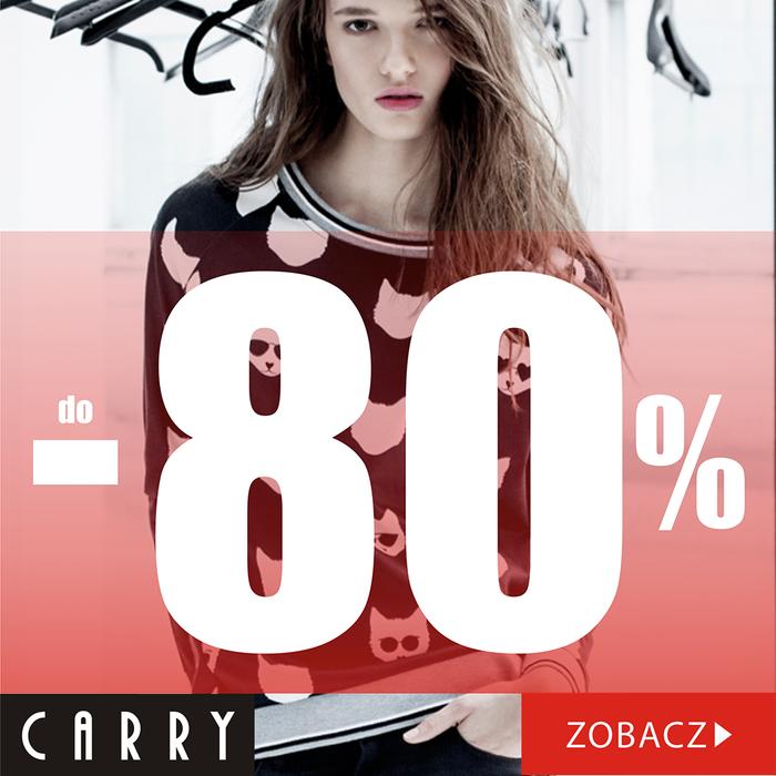Carry: wyprzedaż do 80%