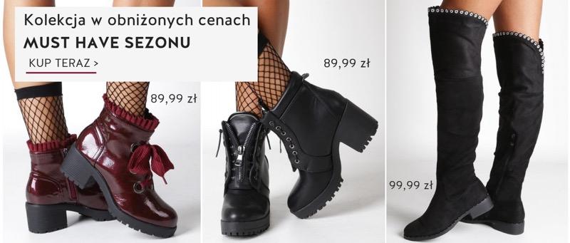 Casu: do 50% zniżki na modne obuwie damskie                         title=