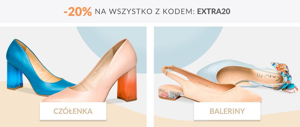 Casu Casu: extra 20% zniżki na cały asortyment obuwia