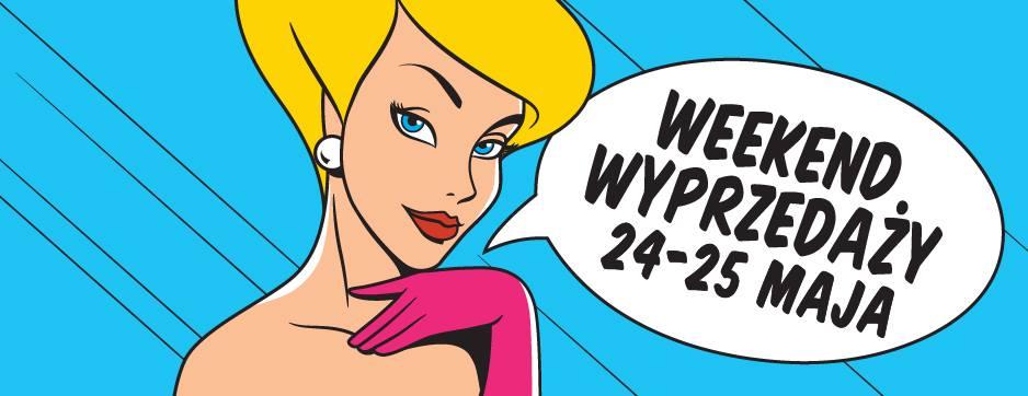 Weekend wyprzedaży w centrum M1 w Krakowie 24-25 maja 2014                         title=