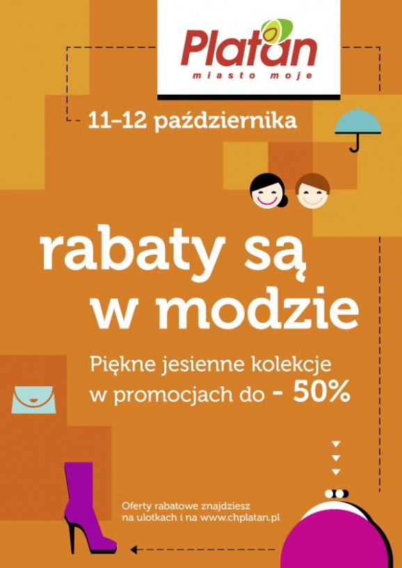 Zakupy z Rabatami w centrum Platana w Zabrzu 11-12 października 2014