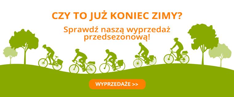 Centrum Rowerowe: wyprzedaż do 62% rabatu na rowery, odzież rowerową, części i akcesoria rowerowe