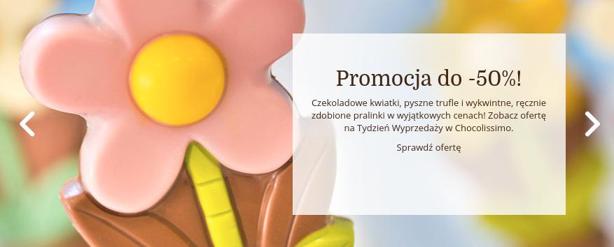 Chocolissimo: do 50% rabatu na czekoladowe prezenty                         title=