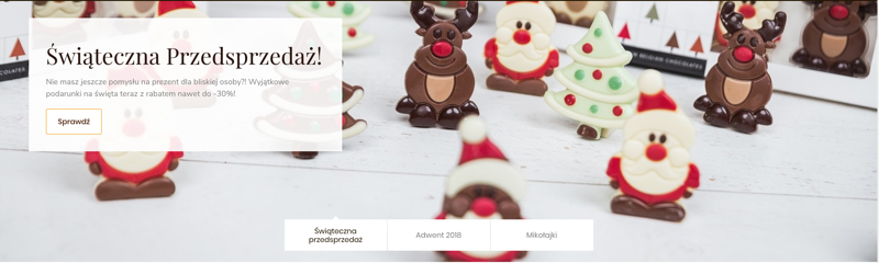 Chocolissimo: do 30% zniżki na czekoladowe prezenty                         title=