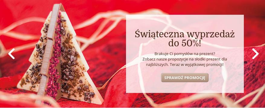Chocolissimo: wyprzedaż do 50% zniżki na czekoladowe prezenty                         title=