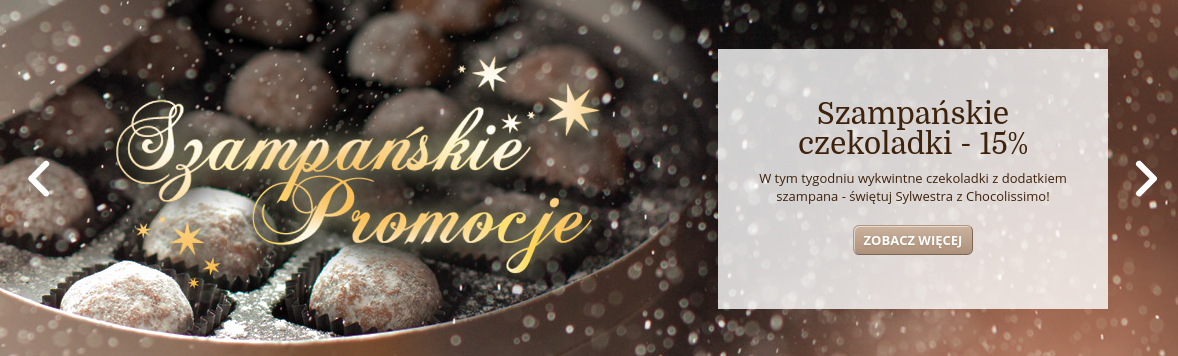 Chocolissimo: 15% rabatu na czekoladki z dodatkiem szampana