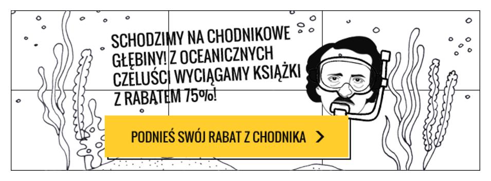 Chodnik Literacki Chodnik Literacki: 75% rabatu na książki