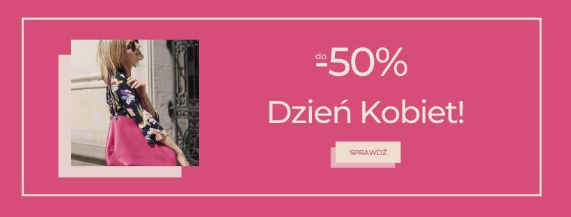 Cholewiński: do 50% zniżki na torebki, obuwie, rękawiczki, portfele i inne akcesoria - promocja na Dzień Kobiet