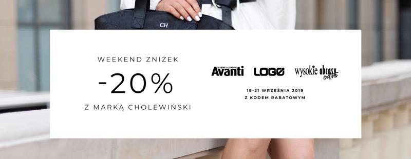 Cholewiński: Weekend Zniżek 20% rabatu na galanterię skórzaną