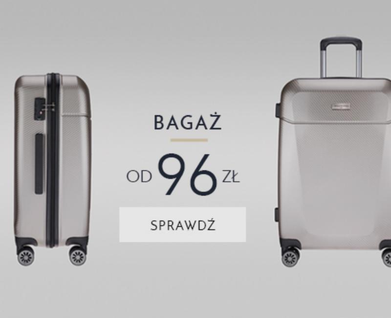 Cholewiński: bagaż od 96zł