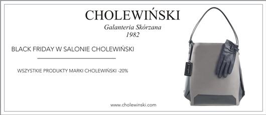 Black Friday w Cholewiński: 20% zniżki