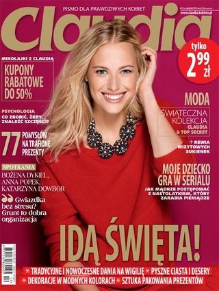 Mikołajki z Claudią w całej Polsce 6-7 grudnia 2014