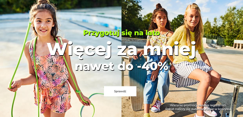Coccodrillo: do 40% zniżki na odzież dla dzieci na lato                         title=