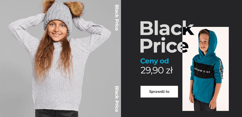 Coccodrillo Coccodrillo: Black Price odzież dla dzieci od 29,90 zł