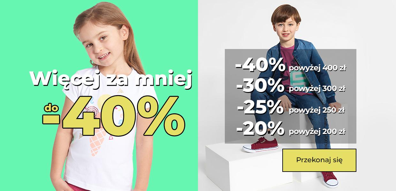 Coccodrillo: do 40% rabatu na odzież dla dzieci                         title=