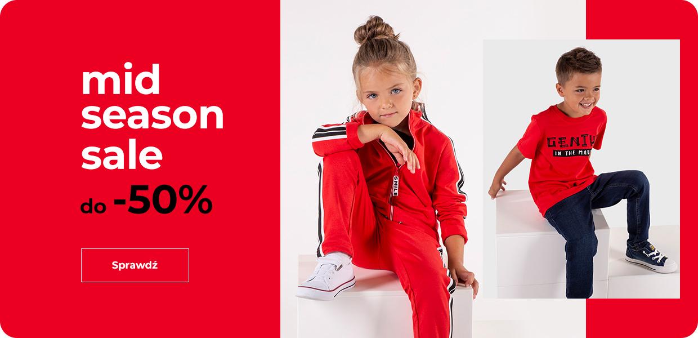 Coccodrillo: wyprzedaż do 50% rabatu na odzież dla dzieci i młodzieży                         title=