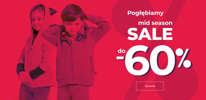 Coccodrillo: wyprzedaż do 60% rabatu na odzież i obuwie dla dzieci                         title=
