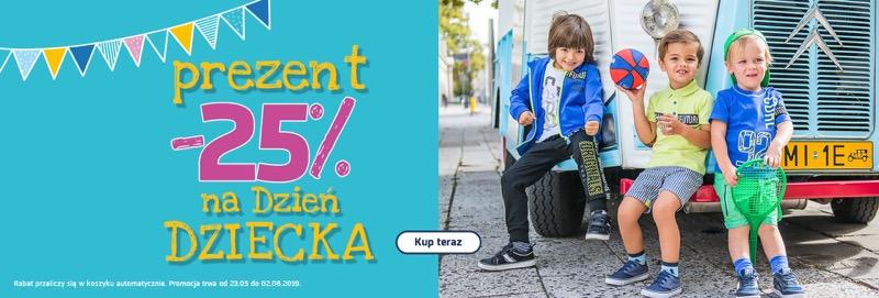 b40fb45c28af31 Coccodrillo: 25% zniżki na odzież dla dzieci na Dzień Dziecka