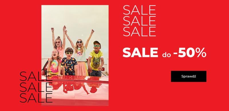 Coccodrillo: wyprzedaż do 50% rabatu na odzież dla dzieci                         title=